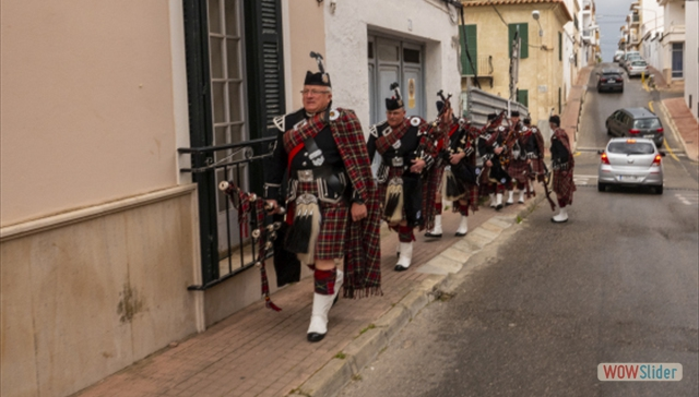 The streets of El Castell